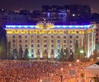 В День Независимости харьковчане смогут расписать военные трофеи