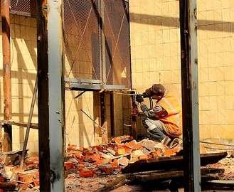 В Харьковском зоопарке демонтируют обезьянник. Обезьяны разъехались