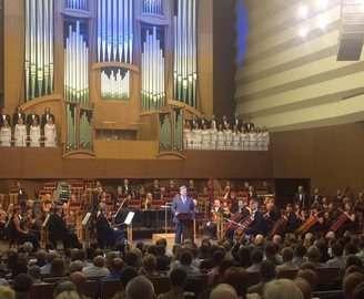 Президент Украины открыл органный зал филармонии