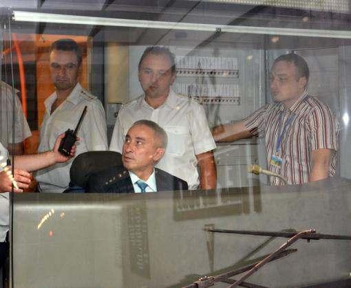 На станции метро «Победа» построено мини-депо для ремонта вагонов