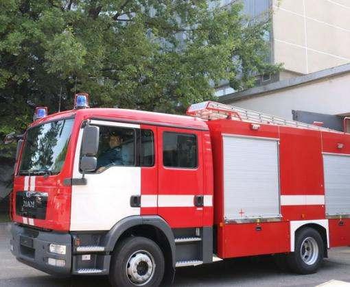 Харьковские спасатели получили новую автоцистерну