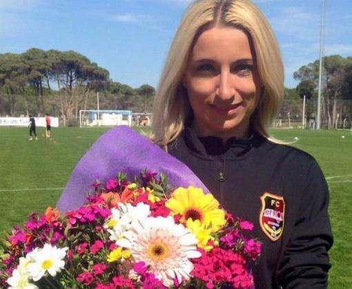 Юлия Кревсун: «Футбол — это что-то новое. Он заставляет непрерывно развиваться!»