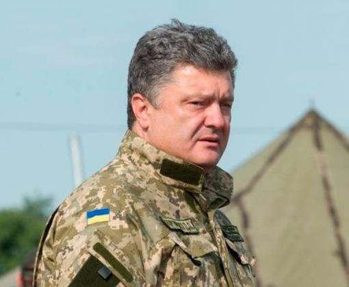 Петр Порошенко везет на Харьковщину партию техники и оружия для военных