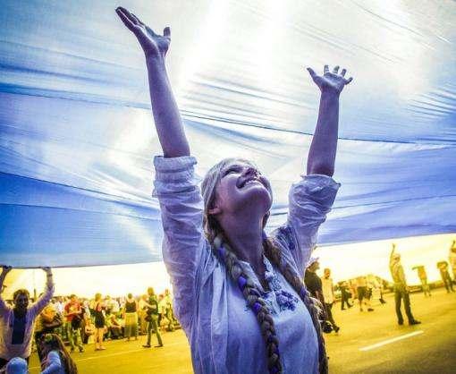 В Киеве проходит военный парад в честь 25-летия Независимости Украины: прямая трансляция