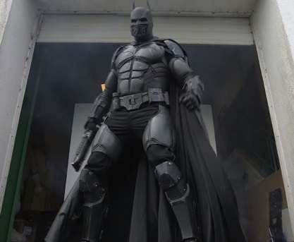 Создан работающий костюм Бэтмена: видео