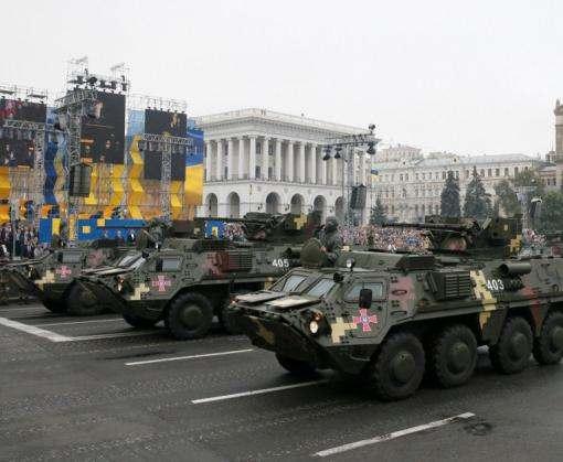 Куда отправилась техника с военного парада в Киеве