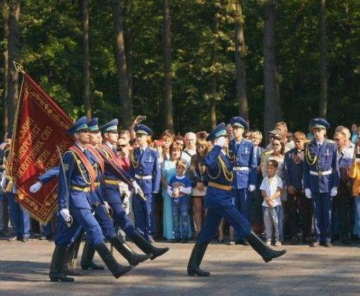 Рекордное количество первокурсников харьковских военных вузов приняли присягу