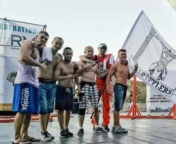 Харьковские воркаутеры «сделали» киевлян