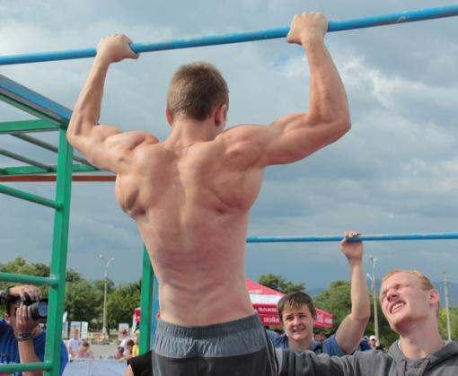 Харьковские уличные гимнасты востребованы за границей