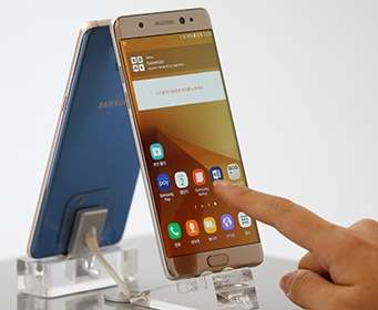 Samsung остановила продажи смартфонов Galaxy Note 7