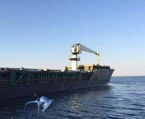 В СБУ рассказали подробности захвата турецкого судна