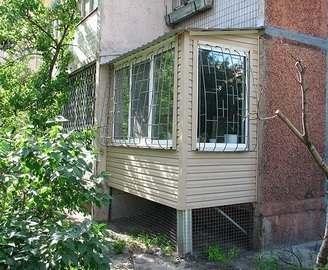 В Харькове за балконные пристройки придется платить налог