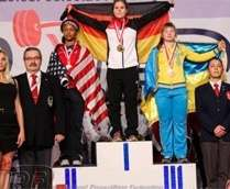 Харьковчанка завоевала «бронзу» на чемпионате мира по пауэрлифтингу