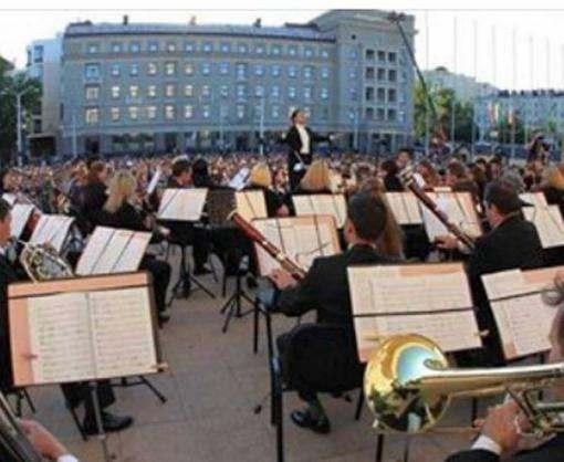 Харьковский симфонический оркестр даст концерт возле метро