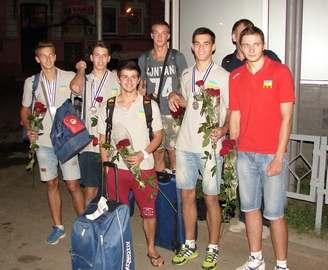 Молодежная сборная завоевала медали на чемпионате Европы