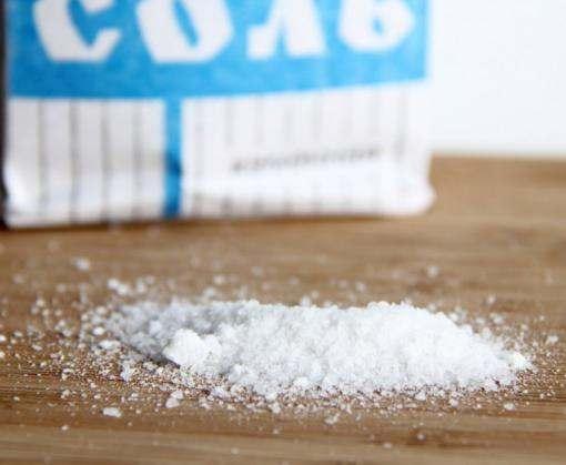 Российское правительство внесло соль в список продовольственного эмбарго