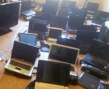 Полиция разыскивает владельцев украденных ноутбуков (фото)