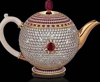 В Лондоне представили самый дорогой в мире чайник