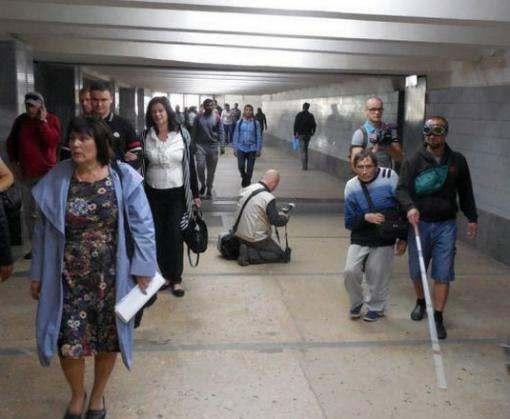 Эксперимент в харьковском метро чуть не закончился трагедией