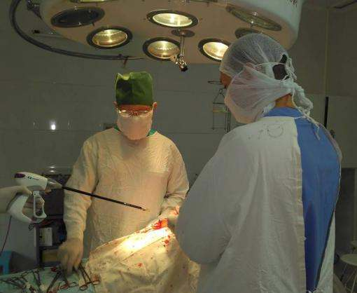 Харьковской неотложке вручили медоборудование, способное помочь воинам АТО