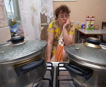 Салтовка страдает от отсутствия горячей воды