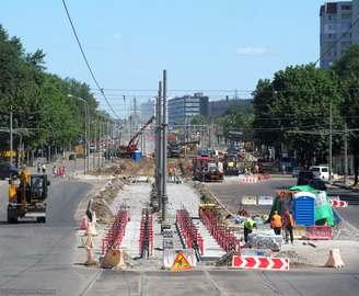 Московский проспект в Харькове продолжат ремонтировать с противоположной стороны