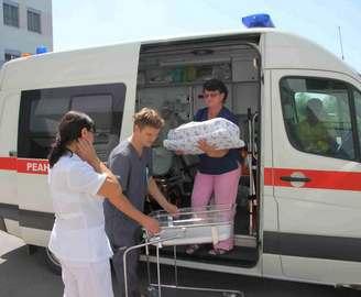 Реанимобиль в Харькове есть, но за него нужно платить