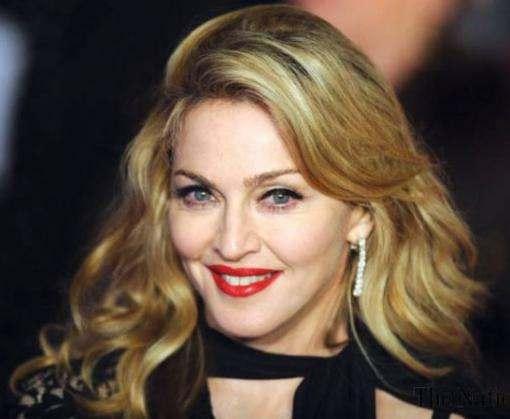Мадонна почтила память Шимона Переса флагом