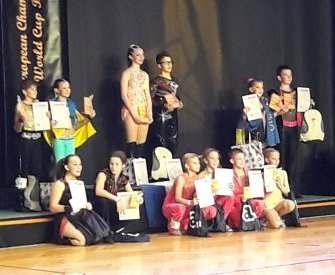 Харьковские школьники танцуют на европейском уровне