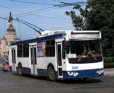 В Харькове не ходят трамваи и троллейбусы