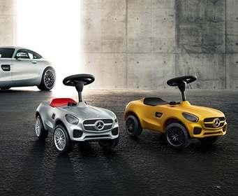 Mercedes создал спорткары для детей
