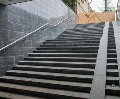В Харькове ремонтируют выходы станции метро «Дворец спорта»