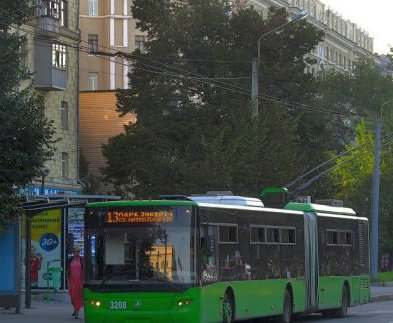 В Харькове в субботу снимут с линий несколько троллейбусных маршрутов