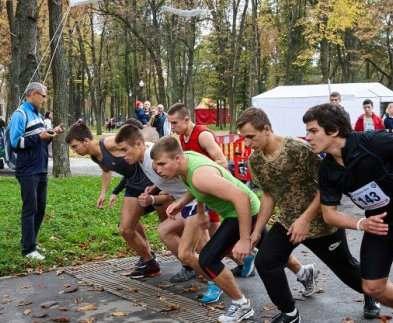 Харьковчане пробежали кросс в память о жертвах тоталитаризма