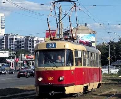 Из-за ремонта трамвайных путей изменится движение в центре Харькова