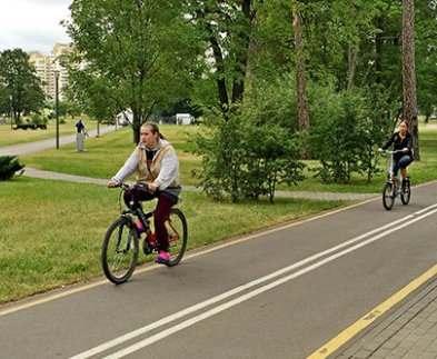 В Харькове занялись велодорожками