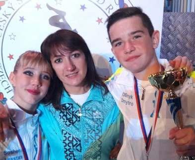 Юные харьковчане победили на  рок-н-ролльных соревнованиях в Чехии