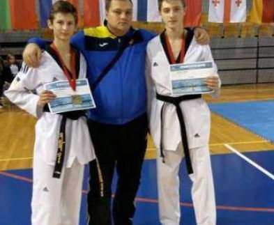 Харьковские тхэквондисты выиграли международный турнир в Латвии