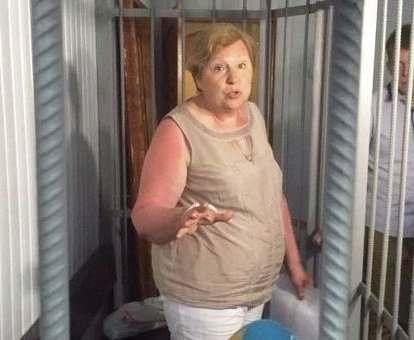 Александровскую освободили из-под ареста