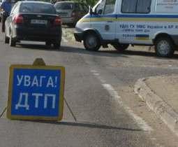 В Харькове на Московском проспекте из-за ДТП образовалась пробка