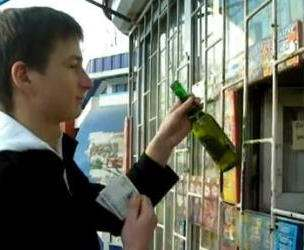 Под Харьковом детям продавали алкоголь