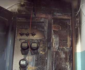 В Харькове начали гореть электросчетчики