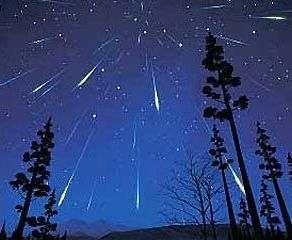 Сегодня ночью земляне смогут полюбоваться «падающими звездами»