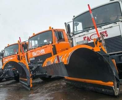 В Харькове будет работать две сотни снегоуборочных машин