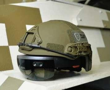 В Украине разрабатывают «виртуальный» шлем для военных