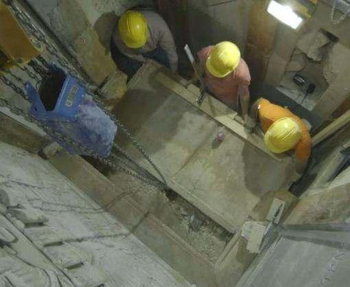 Что увидели ученые при раскопках Гроба Господня в Иерусалиме