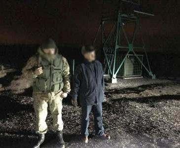 Только что освободившийся харьковский сепаратист пытался бежать в Россию