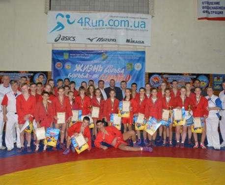 Харьковские самбисты завоевали с полсотни наград