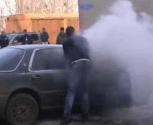 Пожары в Харькове: сгорело три автомобиля