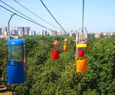 Харьковская канатная дорога изменила график работы